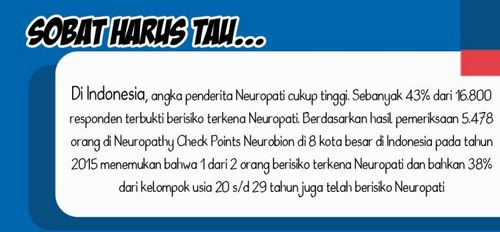 Apa itu Neuropati? kerusakan serabut saraf, yang pada